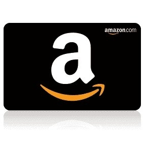 Amazon giveaway card
