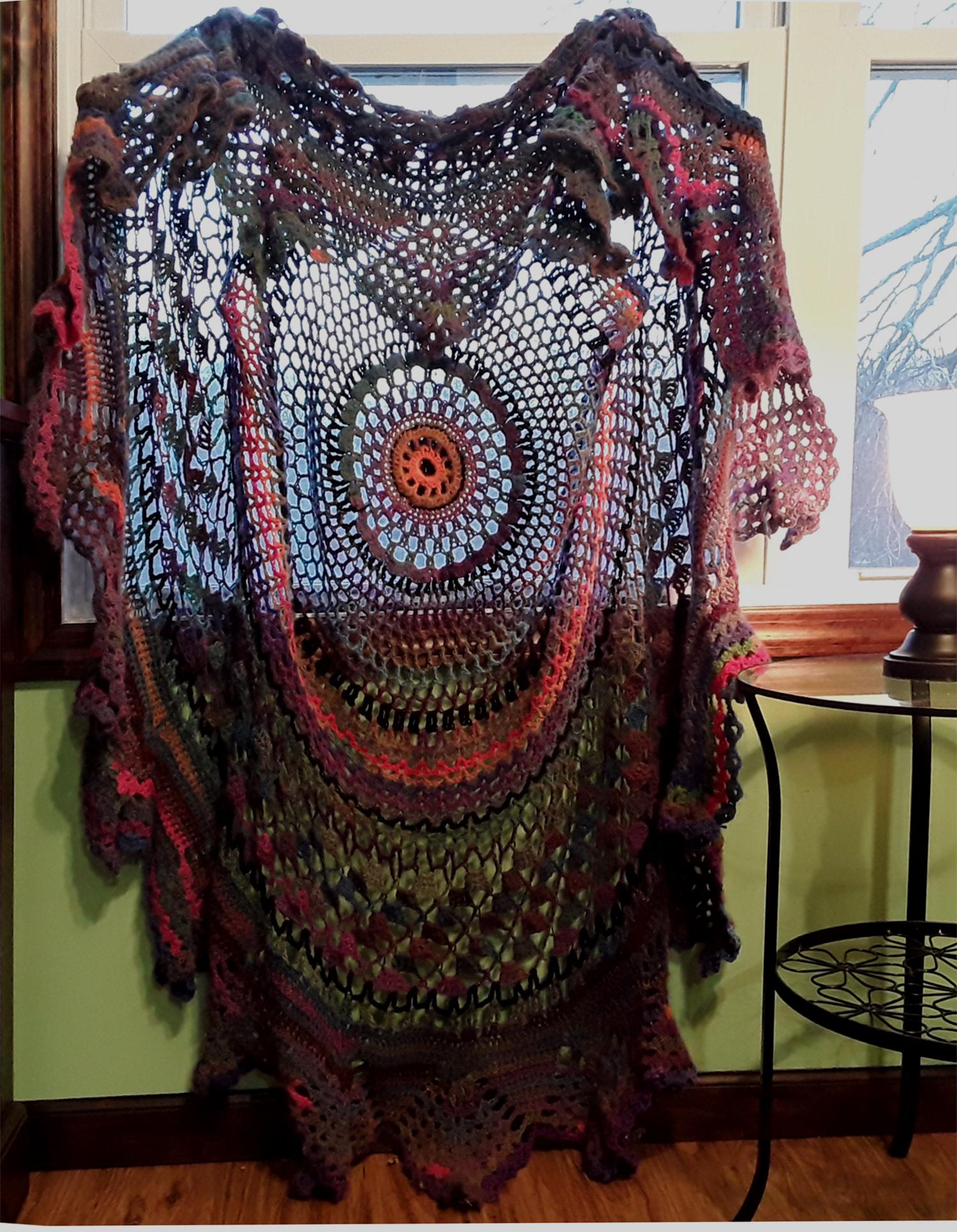 Bohemian Vest-shawl